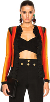 Balmain Stripe Jacket