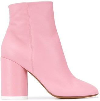 MM6 MAISON MARGIELA closed toe ankle boots