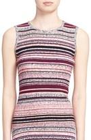 Tanya Taylor Women's 'Ash' Stripe Sleeveless Ribbed Top