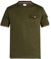 Moncler Gamme Bleu Patch-pocket cotton T-shirt