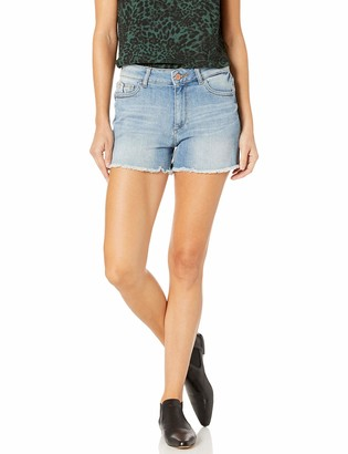 DL1961 Women's Karlie Boyfriend Jean Short