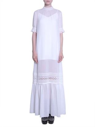 McQ Panelled Maxi Dress