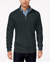 Club Room Men's Quarter Zip Sweatshirt, Only At Macy's