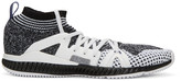 adidas by Stella McCartney Black and White Crazytrain Bounce Sneakers