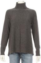 White + Warren Raglan Standneck Cashmere Sweater
