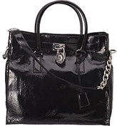 Handbags - MICHAEL Michael Kors Hamilton Tote Black Patent