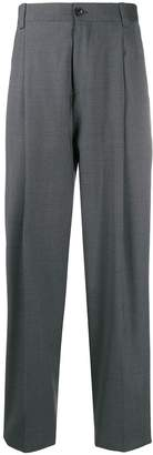 Versace straight tailored trousers