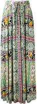 Etro floral print pleated skirt - women - Silk - 40
