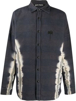 Palm Angels Tie-Dye Palm Overshirt