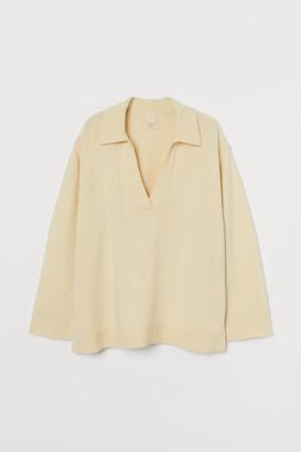 H&M Fine-knit merino-blend jumper