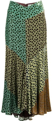 Silvia Tcherassi Delilah printed skirt
