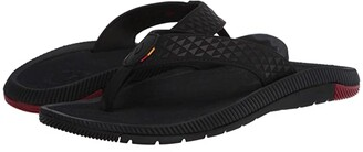 OluKai Halo (Black/Dark Shadow) Men's Sandals