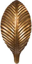 Bradburn Gallery Home Leaf Sconce, Antiqued Gold