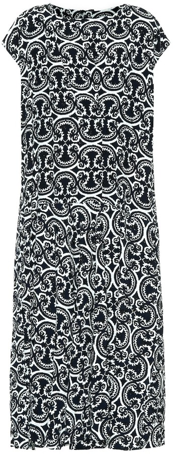 Jil Sander Printed maxi dress