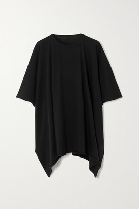Rick Owens Minerva Cotton-jersey T-shirt - Black