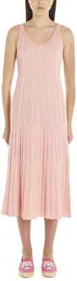 Kenzo Ribbed Fitted Dress