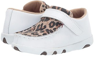 Twisted X Driving Moc (Infant/Toddler) (White/Leopard) Shoes