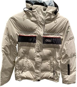 Peak Performance White Coat for Women