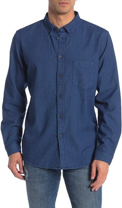 Levi's Levis Made And Crafted Drover Long Sleeve Standard Fit Shirt
