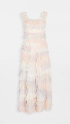 Needle & Thread Petra Ruffle Gown