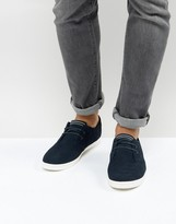 Fred Perry Byron Low Suede Sneakers