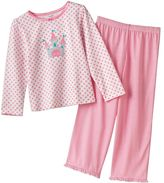 Carter's floral and stripe pajama set - girls