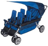 Foundations® LX6 Six Passenger Stroller - Blue