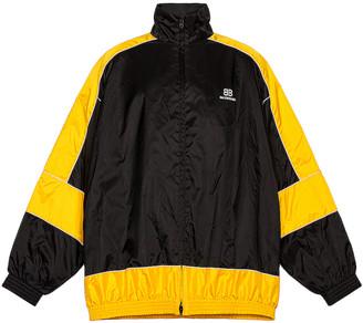 Balenciaga Zip Up Jacket in Yellow | FWRD