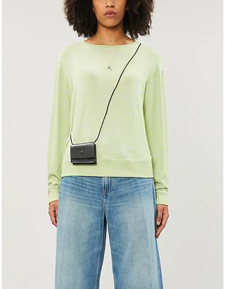 Rag & Bone Round-neck stretch-knit jumper