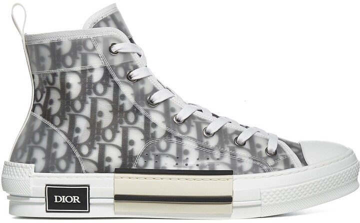 Christian Dior B23 Oblique High-Top Sneakers