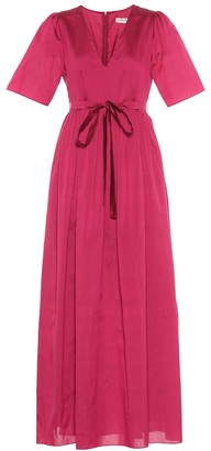 S Max Mara Hilde cotton and silk dress