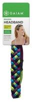 Gaiam Braided Headband - Multi Colored