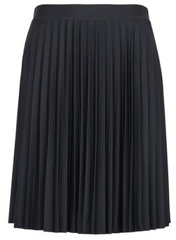 Dorothy Perkins Womens Black Pleated Mini Skirt, Black