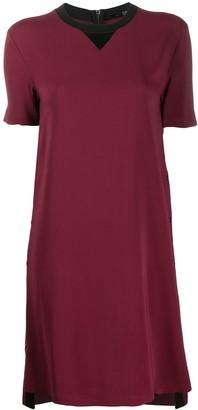 Karl Lagerfeld Paris Two-Tone Shift Dress