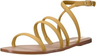 Kaanas Women's DIAMANTINA Strappy Flat Leather Sandal
