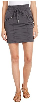 XCVI Sweetzer Skirt Four-Way Stretch (Basalt Pigment) Women's Skirt