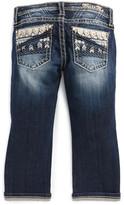 Miss Me Chevron Embellished Bootcut Jeans (Big Girls)