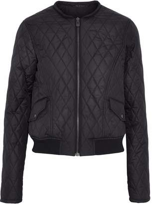 Belstaff Quilted Shell Bomber Jacket