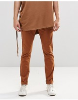 Asos Skinny Chinos In Brown