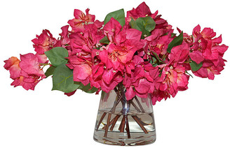 Bougainvillea 22 in Vase - Faux - The French Bee