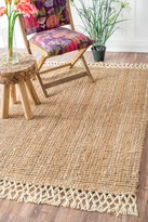 nuLoom Hand Woven Raleigh - Natural