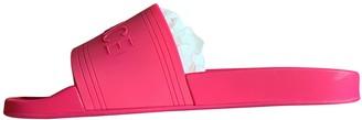 Versace Pink Rubber Sandals
