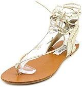 Steve Madden Walkitt Women US 9 Gold Gladiator Sandal