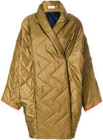 Reality Studio oversized quilted coat