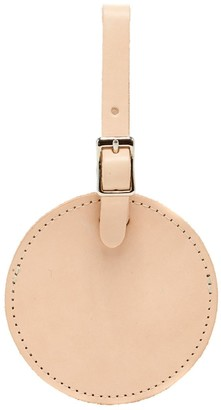 Graf Lantz Circle Natural Leather Travel Tag