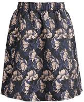 InWear CAITLIN Aline skirt dark flower