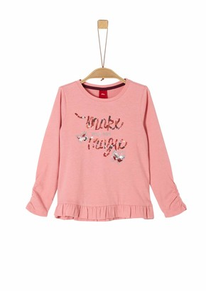 S'Oliver Girl's 53.911.31.7472 Long Sleeve Top