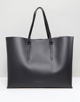 Armani Jeans Large East West Tote Bag in Black