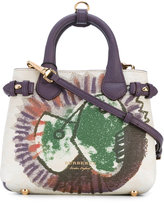 Burberry Baby Banner tote - women - Cotton/Calf Leather - One Size