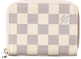 Louis Vuitton Damier Azur Canvas Zippy Coin Purse